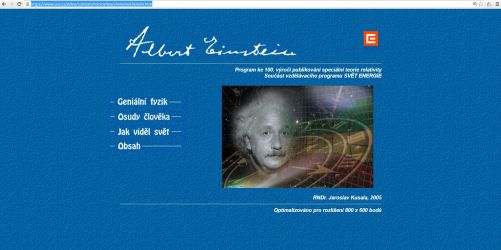 Miniencyklopedie Zajímavá fyzika - Albert Einstein