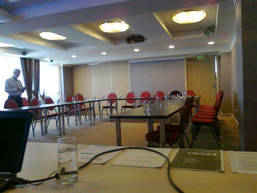 Někdo chodí na semináře poctivě a včas, pak na ostatní čeká.... (Foto Marie Dufková)