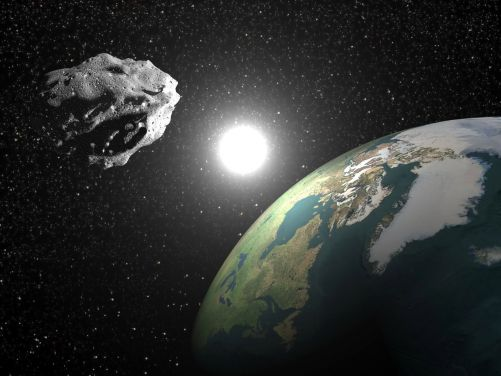 Máme se bát planetek? (Ilustrace Shutterstock)
