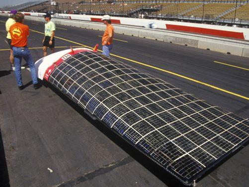 Solar Flair, pokusné auto na sluneční pohon. (Foto Shutterstock)