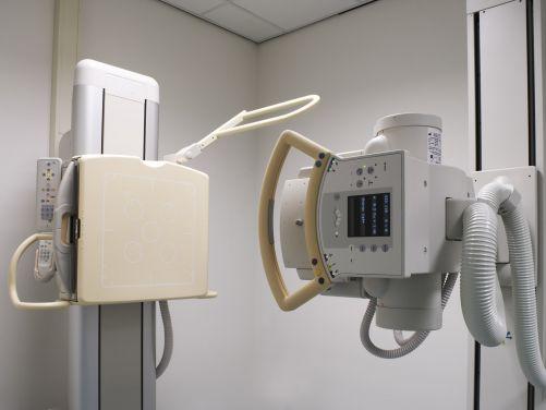 Klasický rentgenový přístroj (Zdroj Shutterstock)