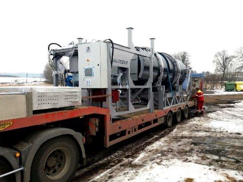 Jednotka technologieMULTIFERM pro výrobu paliva z biologicky rozložitelných odpadů je připravena k expedici zákazníkům (zdroj: VIA ALTA)