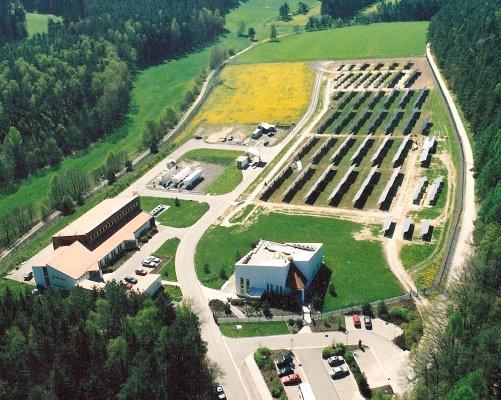 Laboratoře Solar-Wasserstoff u Neunburgu mají největší zásluhy na vývoji komponent pro vodíkové technologie (foto Jan Tůma)