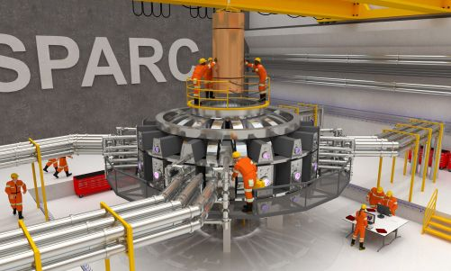 Vizualizace tokamaku SPARC (Zdroj: Ken Filar/MIT PSFC Research Affiliate)