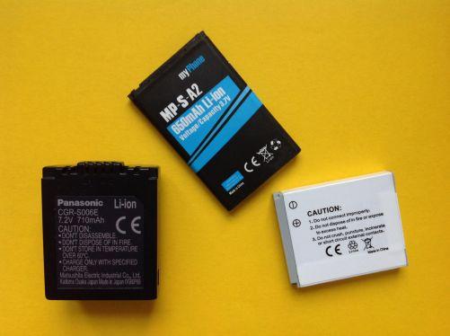 Ilustrační obrázek Li-Ion baterií MD