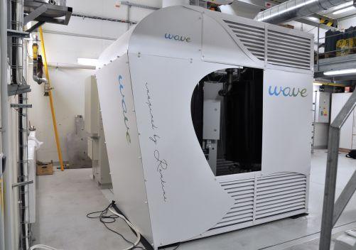 Mikroelektrárna na biomasu v laboratoři UCEEB (foto tým Jakuba Maščucha)