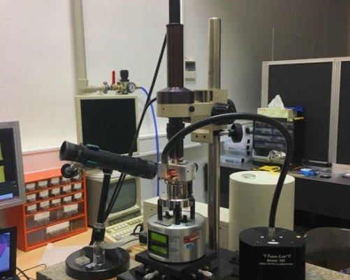 Mikroskop atomárních sil, kterým jsou pohyby nanorole pozorovatelné (Zdroj: Ústav fyzikální chemie J. Heyrovského AV ČR, v.v.i.)