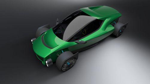 Návrh elektrického vozu Miss R (zdroj XING Mobility)