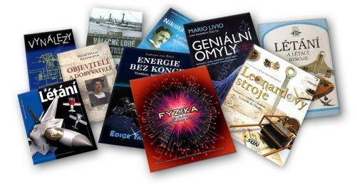 Takovéhle krásné knihy můžete vyhrát! (zdroj Svět energie)