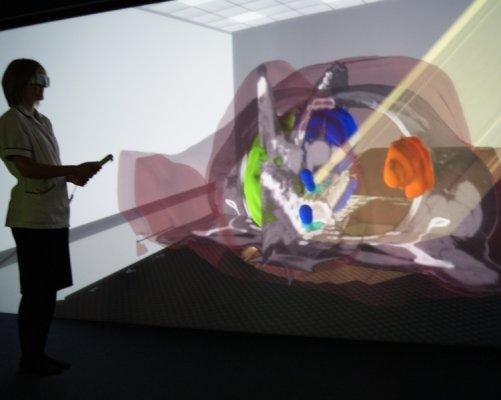 Praxe ve virtuálním 3D prostředí na simulátoru VERTTM (zdroj VERTUAL)