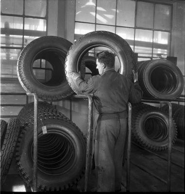 Pneumatiky Barum v roce 1948 (zdroj Continental)