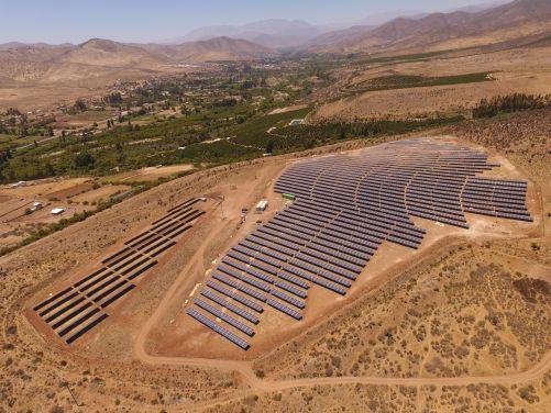FV instalace firmy Solek v dalekém Chile (zdroj Solek Group)