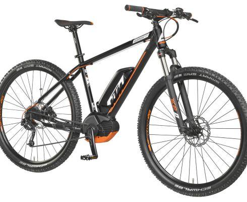 KTM Elopeak M29 je silný e-bike ideální pro relaxaci během jízdy na kole. Je vybaven výkonným motorem Bosch a LCD displejem, který umožňuje snadné a rychlé ovládání. (Fotografie Hervis)