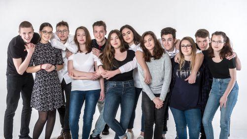 Loňští účastníci projektu Tvoje šance (zdroj Samsung)