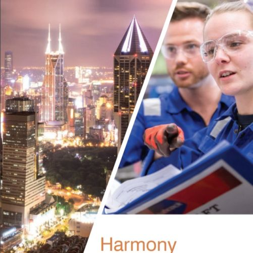 Titulní stránka dokumentu WNA Harmonie (zdroj WNA)