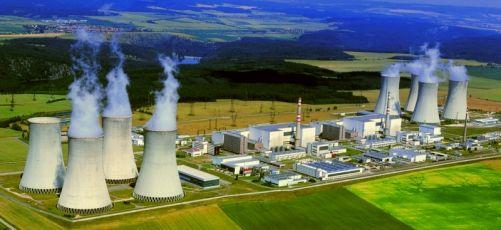 Jaderná elektrárna Dukovany (foto Sucharda, zdroj www.svetenergie.cz)