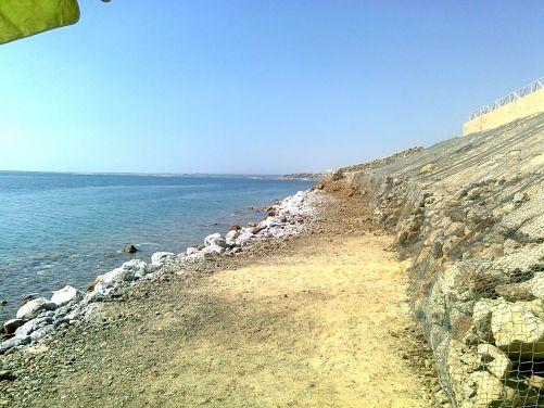 Superslané odpadní vody mohou být i několikrát slanější než nejslanější moře na světě: Mrtvé moře v Jordánsku (foto MD)