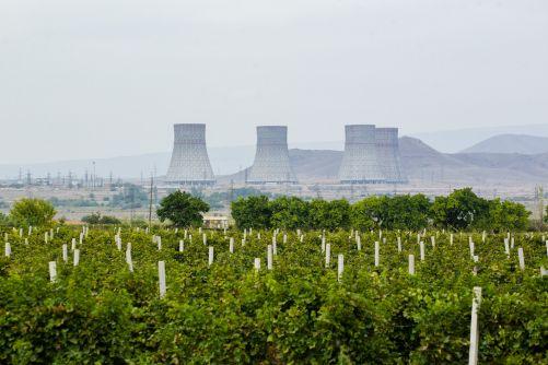 Jaderná elektrárna Mecamor v Arménii (foto Rosatom)