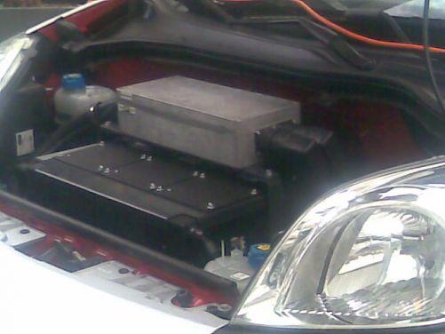 Akumulátor elektromobilu (foto MD)