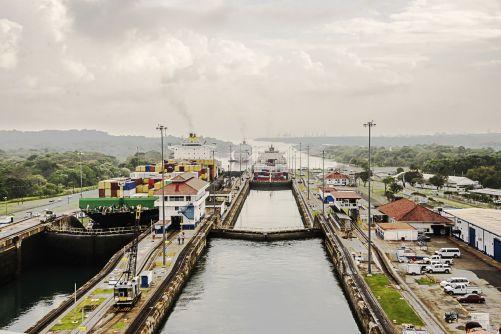 Ilustrační obrázek Panamského průplavu (zdroj Pixabay)