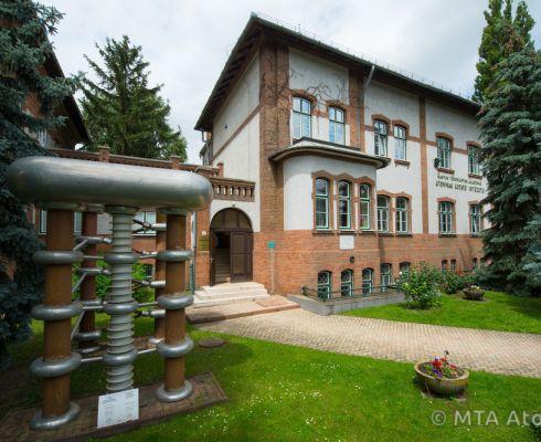 Budova ústavu ATOMKI v maďarském Debrecínu (copyright ATOMKI)