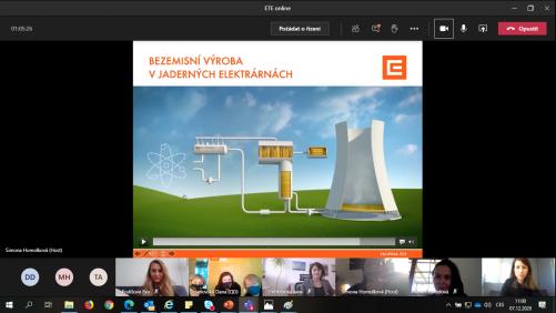 On-line návštěvy elektráren ČEZ (zdroj ČEZ)