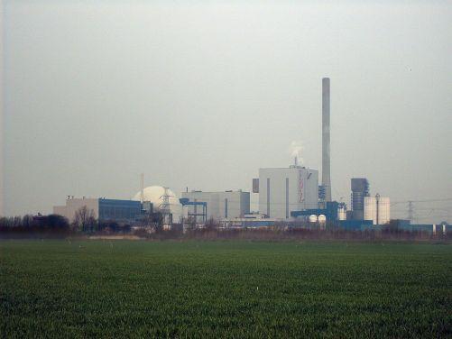 Nizozemská jaderná elektrárna Borselle (zdroj Wikimedia Commons, Taco White, CC, BY-SA 3.0)