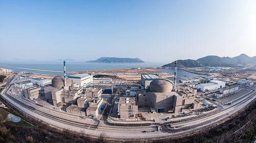 Jaderná elektrárna Taishan 1 a 2, Guangdong, Čína (Zdroj EDF Energy)