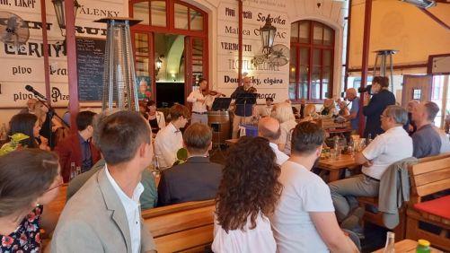 Hlávkovy literární ceny se udělovaly v restauraci Hlávkův dvůr (foto M. Hofmanová).