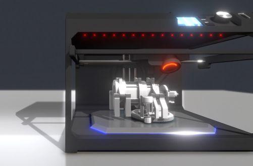 Jednoduché modely zvládnou i 3D tiskoví začátečníci (zdroj ČEZ)