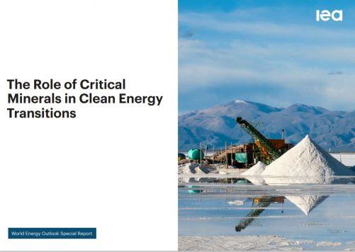 Titulní strana studie IEA