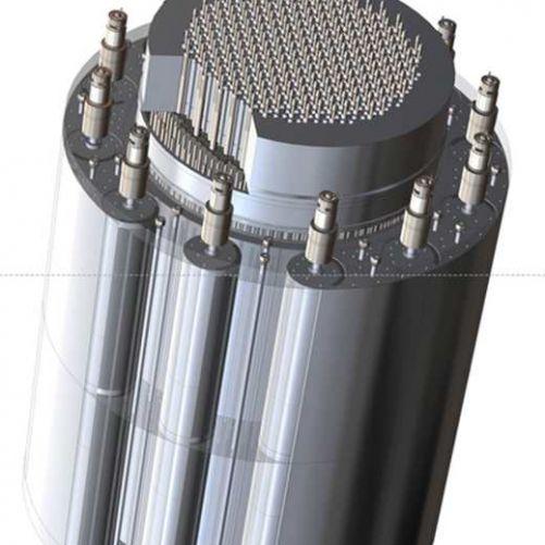 Koncepce reaktoru NTP (zdroj GA)