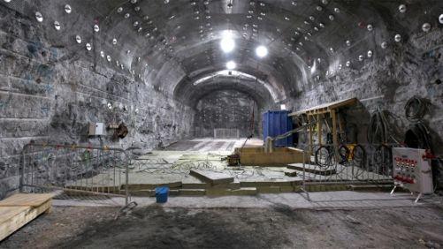 Onkalo, finské zařízení na ukládání použitého jaderného paliva, se skládá ze systému tunelů (foto: Posiva Oy)