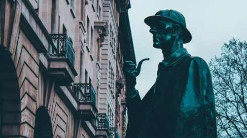 """Ilustrační obrázek """"Holmesův paměťový palác"""" (zdroj Pixabay, autor Eric Neil Vázquez)"""