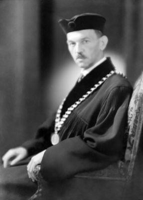 Portrét Vojtěcha Jarníka (zdroj MFF UK)