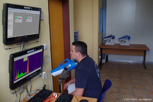 Systém JodDet ve výbavě Centrální laboratoře Radiační monitorovací sítě v SÚRO v.v.i. (zdroj SÚRO, Jan Helebrant)