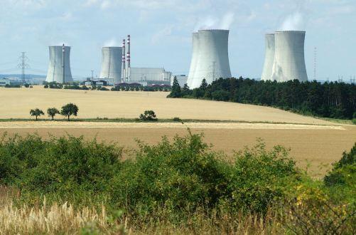 Jaderná elektrárna Dukovany dnes (foto ČEZ)