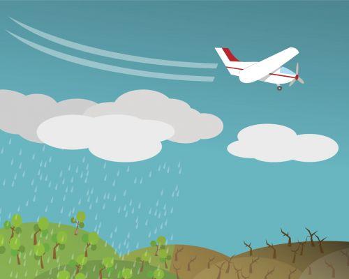 Očkování mraků (zdroj Adobe Stock)