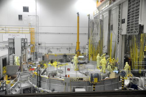 Testovací reaktor ATR (Zdroj: Idaho National Laboratory)