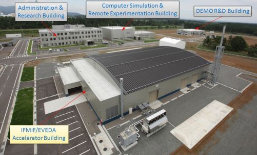 Tady asi IFMIF ve spolupráci s Evropou postavené nebude (Credit © ITER Organization, http://www.iter.org/)