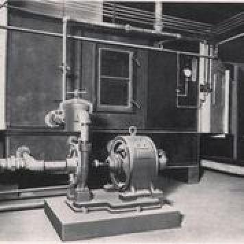 Klimatizační jednotka firmy Carrier (zdroj ENBRA)