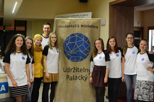 Zástupci iniciativy Udržitelný Palacký (zdroj: Palackého Univerzita Olomouc)