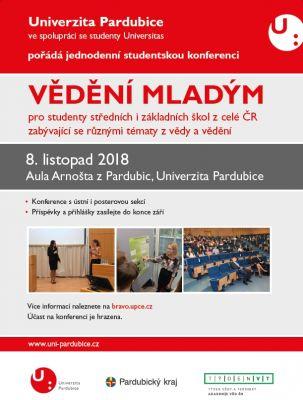 Pozvánka k účasti na studentskou konferenci pro mladé talenty