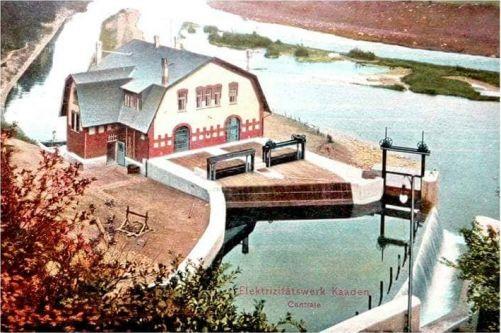 Malá vodní elektrárna Želina u Kadaně slouží od roku 1908 (zdroj ČEZ)