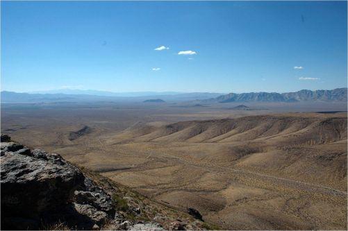 Pohoří Yucca Mountain (foto ČEZ, OBK)